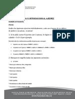 Ficha # 3 Ajedrez Virtual 2019-2