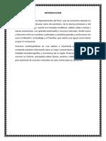 RECETAS DE POSTRES, PLATOS TITPICOS Y BEBIDAS DE HUANUCO
