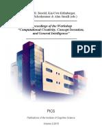 Proceedings of Computational Analysis