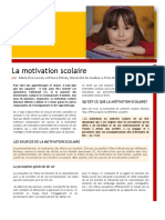 facteurs de motivations