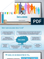 article review 1 - inclusion