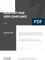 7 Steps to Kickstart Your GDPR Compliance En