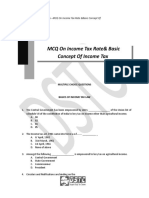 Chapter 1 MCQs on  Income Tax Rates and Basic Concept of Income Tax.docx