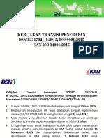 kebijakan transisi