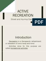 Active Recreation