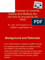 RA 9344 as Amended by RA 10630 Juvenile Justice