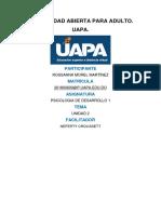 TAREA 3 PSICOLOGIA DE DESARROLLO 1.docx
