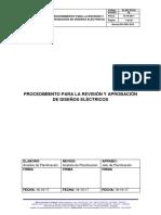 01 Procedimiento Para La Revisión y Aprobación de Diseños 2