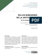 En los márgenes de la artisticidad.pdf
