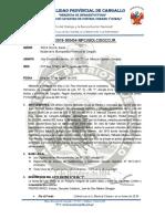 INFORME Nº Sub Division de Lote 15 de La Mz. Y Tulia Medina Montero y Hrmanos