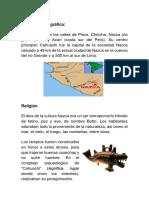 Cultura Nazca Arquitectura y Religión