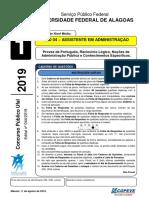 Prova - Cod. 04 Assistente Em Administracao- Tipo1