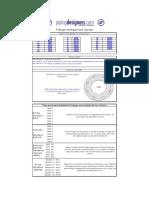 Flange Data Comparison