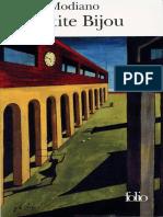 La Petite Bijou - Patrick Modiano.pdf