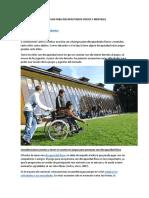 14 Juegos Para Discapacitados Físicos y Mentales
