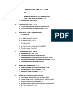 Analicis Estructural de La Carta