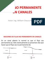 flujo no permanente en canales