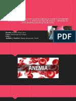 La Anemia y Sus Consecuencias en El Embarazo