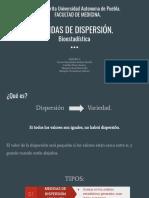 Medidas de Dispersión. Bioestadística