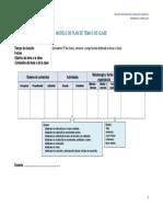 Modelo de Plan de Clase