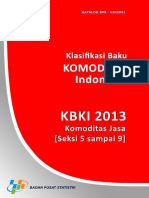 Klasifikasi Baku Komoditi Indonesia (KBKI) 2013 Komoditas Jasa (Seksi 5 sampai 9).pdf