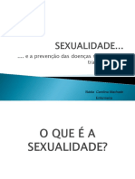 Sexualidade e DST - Cavalcante