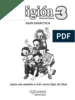 207649761 Guia Didactica de Religion 3º Basico