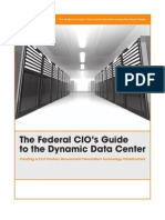 The Federal Cio s Guide to the Dynamic Data Center 78830