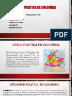 Diapositivas Crisis Politica