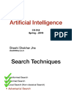 Adveserial Search