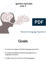 Aula 2 - Language Learning in Early Childhood