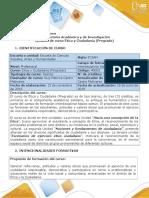 Syllabus Del Curso Ética y Ciudadanía (Pregrado)