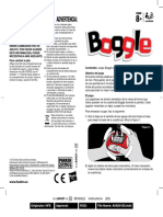 Boggle instructions