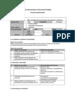 Ficha de Planificación