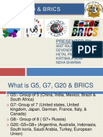 G7 and Brics Ppt
