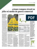 EXPORTACIONES EN EL PERU ROMPE RECORD
