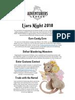 AL Liars Night 2018