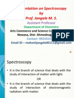 introduction to spectroscopy module i