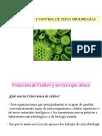 Colecciones microbianas