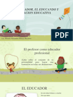 El Educador, El Educando y La Relacion