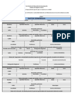 Cédula de Registro Unico