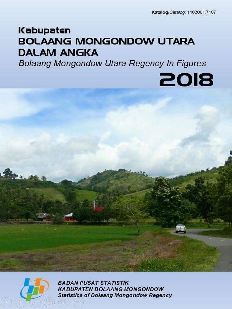 Pemda Kabupaten Bolaang Mongondow Utara Dalam Angka 2018