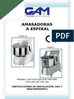 Gam S Series Manual