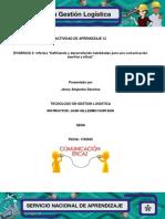 """Evidencia 12.3 Informe """"Definiendo y desarrollando habilidades para una comunicación asertiva y eficaz"""".docx"""