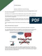 SAP-TS Study Material