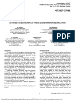 Advanced Capabilities for Gas Turbine Engine Performance Simulationsalexiou2007