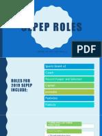sepep roles