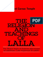 Richard Carnac Temple-The Religion and Teaching of Lalla_ The Shaiva Yogini of Kashmir-Vintage Books (1990).pdf
