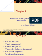 Management - Robbins Coulter - Chapter 1 (Introduction to Management and Organization)
