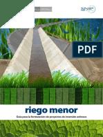 FORMULACION DE PROYECTOS DE REGADIO
